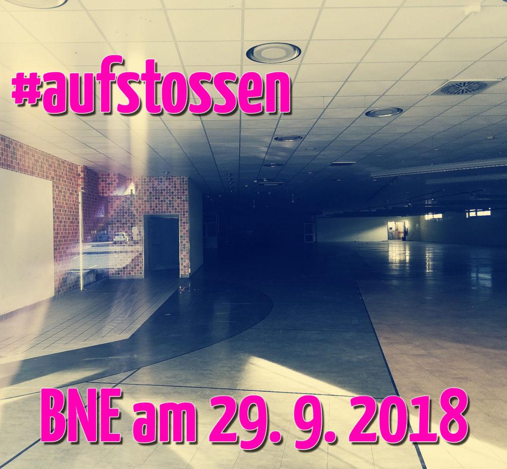 #aufstossen - BNE am 19. 9. 2019